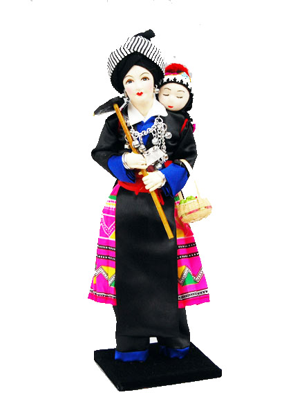 Hill tribe Dolls of Thailand