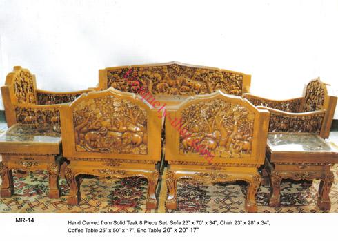 Carved Elephant Furniture